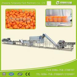 Linea di produzione di secchezza di lucidatura di lavaggio della sbucciatura di taglio automatico della carota Capd-2000