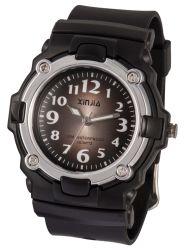 Plástico deportivo reloj analógico de cuarzo para los niños con Water-Resistant