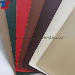 1.4Mm K313 высокого качества Solvent-Free PU кожа имитация хлопка опорной мебель из натуральной кожи