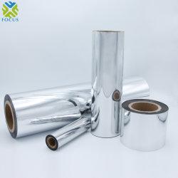 China fabricante de envases PET metalizado metalizados película PE Embalaje CPP de material de película