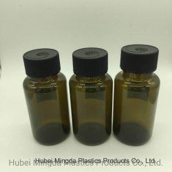 Des couleurs personnalisées Imitation-Glass PE PEHD Pet bouteille en plastique pour les vitamines/capsule/pilule/cosmétiques pharmaceutique