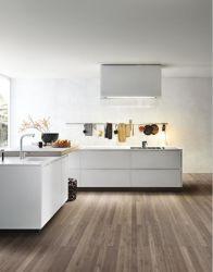光沢度の高い現代デザインかマットの白いラッカー食器棚セット