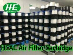 Filtro de aire en los medios de comunicación de fibra de vidrio para Dedusting