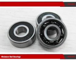 Vedação de borracha do rolamento de esferas de cerâmica híbrida com retentor de Nylon 607C-2A RSA3 Th9