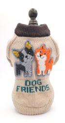Venda por grosso Colar de Pet Suéter Coleta de papelão suéter cão