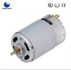 Motore elettrico di CC della spazzola elettrica di 6V 12V 24V RS555 per l'aspirapolvere