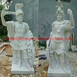 大理石の西部の切り分ける人々Sculputure/の彫像
