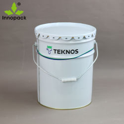 20liter 5 Gallonen-Qualitäts-Metalllack-Wannen-Lack-Behälter