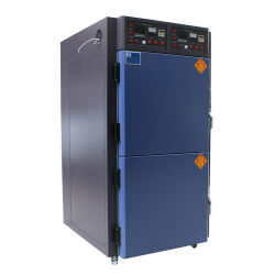 Pruebas de productos electrónicos de laboratorio horno horno de calentamiento de la circulación de gradiente