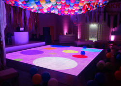 Высокое качество P25/P12,5/P8 Disco освещения сцены LED видео танцевальном зале для события