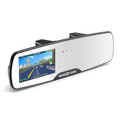 Full HD 1080P 5 Polegada Espelho Traseiro carro DVR da câmera