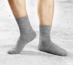 Última Meia personalizados de alta qualidade meias quentes com acrílico e lã