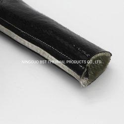 Protección térmica de cableado de envoltura de fuego 3000 Fundas recubierto de silicona