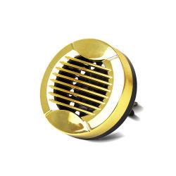 Gelbes Metall mit einem Schelle-Auto-Duftstoff