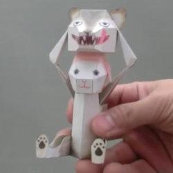 DIY Scrapbook Papel de decoração D'haruki Nakamura Brinquedos de papel Coelho Pikachu Origami Kirigami Pliage Decouvrez Adorables Papertoys