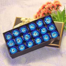 Casamento romântico Dia dos Namorados Dom Sabonetes Rose pétalas de flores / Branqueamento sabonetes artesanais