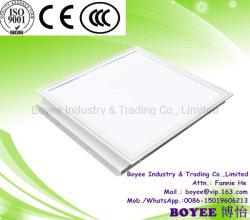 Sin parpadeo difusor opal en interiores de la luz de la luz del panel de techo LED