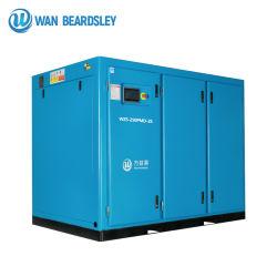 protection environnementale 6.5bar 250kw intelligent silencieux de l'air à vis du compresseur basse pression