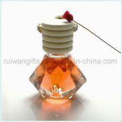8ml de vidro automóvel vaso de perfume Ambientador