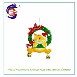 Het goedkope Hangen van de Ambacht van de Decoratie van het Metaal van Kerstmis voor het Ornament van de Muur