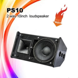 La PS10 Professional Outdoor Altavoz de 10 pulgadas el Equipo de DJ