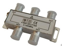 مقسم CATV رباعي الاتجاهات من الفئة 5 إلى 2400 ميجاهرتز (SHJ-TS8804)
