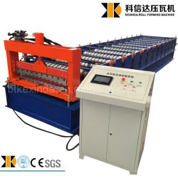 機械を形作ることをするKexinda 836mmの冷たい鋼鉄波形鉄板シートの屋根瓦