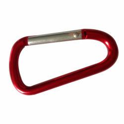 Red Timoneria Personalizada do gancho de travamento de montanhismo, Mosquetão