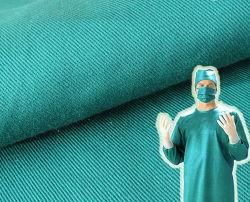綿のあや織り185GSMの病院のScrub Fabric医学の外科操作の博士