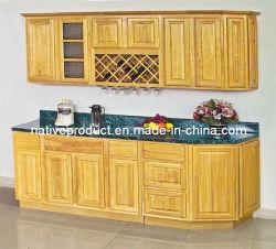 Американский стиль резиновые деревянные кухонные шкафа электроавтоматики