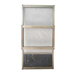 2020 Último projeto DIY Capota Inseto Janela Tela Tela mosca da Estrutura de alumínio inseto deslizantes verticais voar a malha de tela