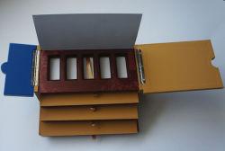Multi-Fonction золото в слитках коробки хранения с ящиками (WB-082)
