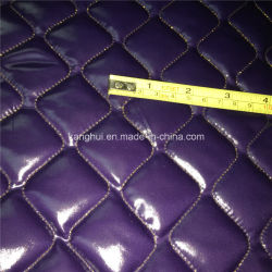 Polyestertaffeta Quilted Dazzle Fabric per Jacket Coat Garments