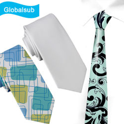 ربطة عنق أبيض مخصصة مخصصة للبطون
