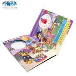 Libro dei bambini personalizzati del fumetto, libro di stampa di colore