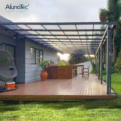 DIY protetor solar Policarbonato Quintal jardim exterior de metal de alumínio sol Sombra Terraço Varanda Patio marquise para venda