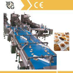 入れる高速産業自動クッキーおよび包装ラインまたは自動挿入のシーリングおよびパッキングライン