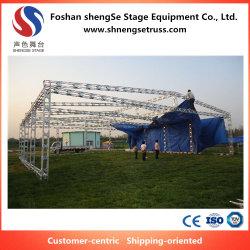 Fase de Instalação fácil exposição de iluminação de exposições de Design do estande Truss em Foshan