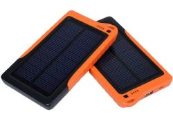 O Solar power bank portátil universal para Smartphone