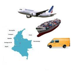 Китай отправки в Колумбии