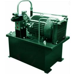 Unidade de potência hidráulica / bloco de potência hidráulica / Estação do cilindro da bomba de potência hidráulica durante Máquinas de moldagem por sopro de injeção