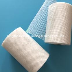 Resistentes a alcalinos reforçados e auto-adesivo fibra de vidro de malha de malha de fibra 110g 75g 5cm x 90multímetro