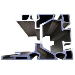 La calidad de precisión H perfil de aluminio de unirse a la mitad de extrusiones de aluminio de extrusión de aluminio redondo
