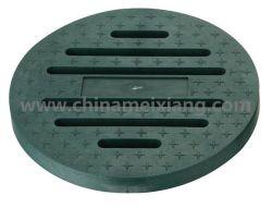 Garten-Bewässerung-runder Abfluss-Vertiefungs-Plastikdeckel (MX9305)