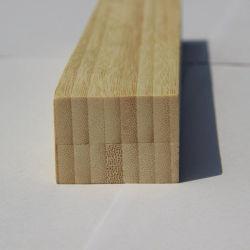 Madeira serrada de bambu natural das madeiras de bambu vertical para a construção e a utilização de cartões.