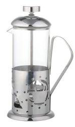 350ml/600ml presse françaises de café en acier inoxydable