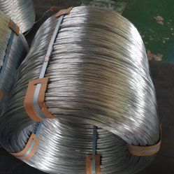 Marken-warm gewalztes galvanisiertes Stahlwalzdraht China-Shengteng in den Ringen