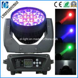 19*30W RGBW 4in1 LED急上昇Macのオーラの洗浄移動ヘッドライト