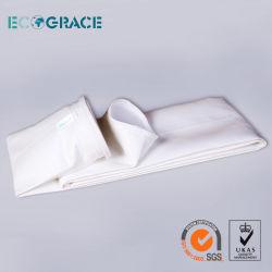 Ferro пылевой фильтр печи кремния кладет цедильный мешок в мешки стеклоткани (292mm x 11000mm)