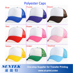 Sunblimation unbelegte Polyester-/Baumwollschutzkappen